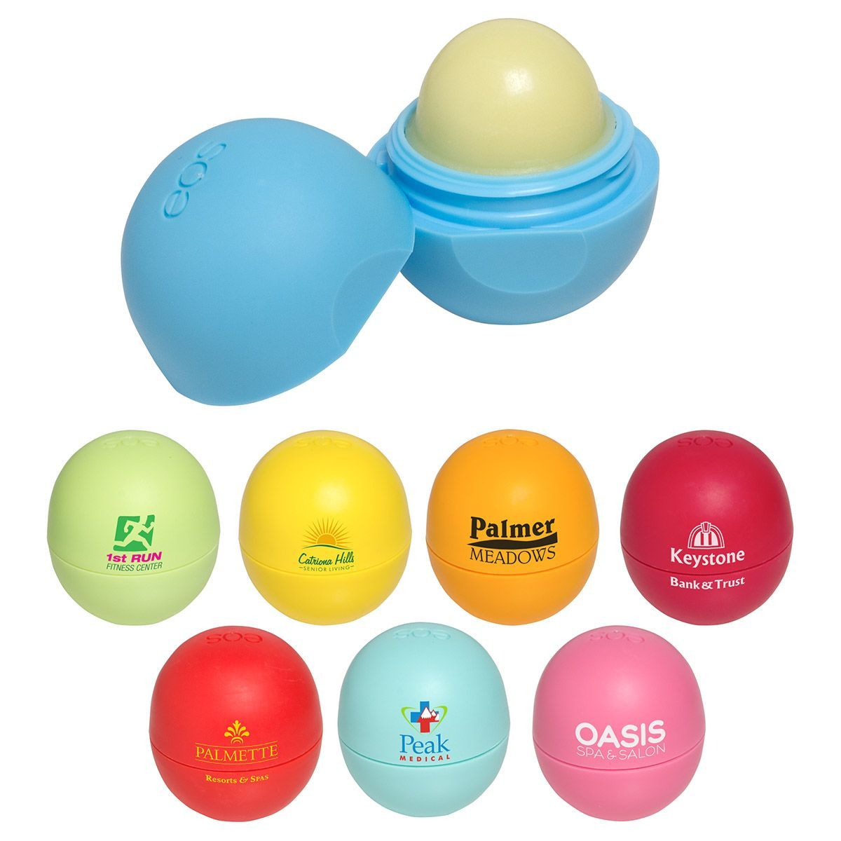 EOS lip balm branded with your logo. (With images) Eos