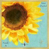 Bedroom Decor Sunflower Wall Art Print, Living Room Flower Decor, Sunshine Yellow Sky Blue In... #sunflowerbedroomideas