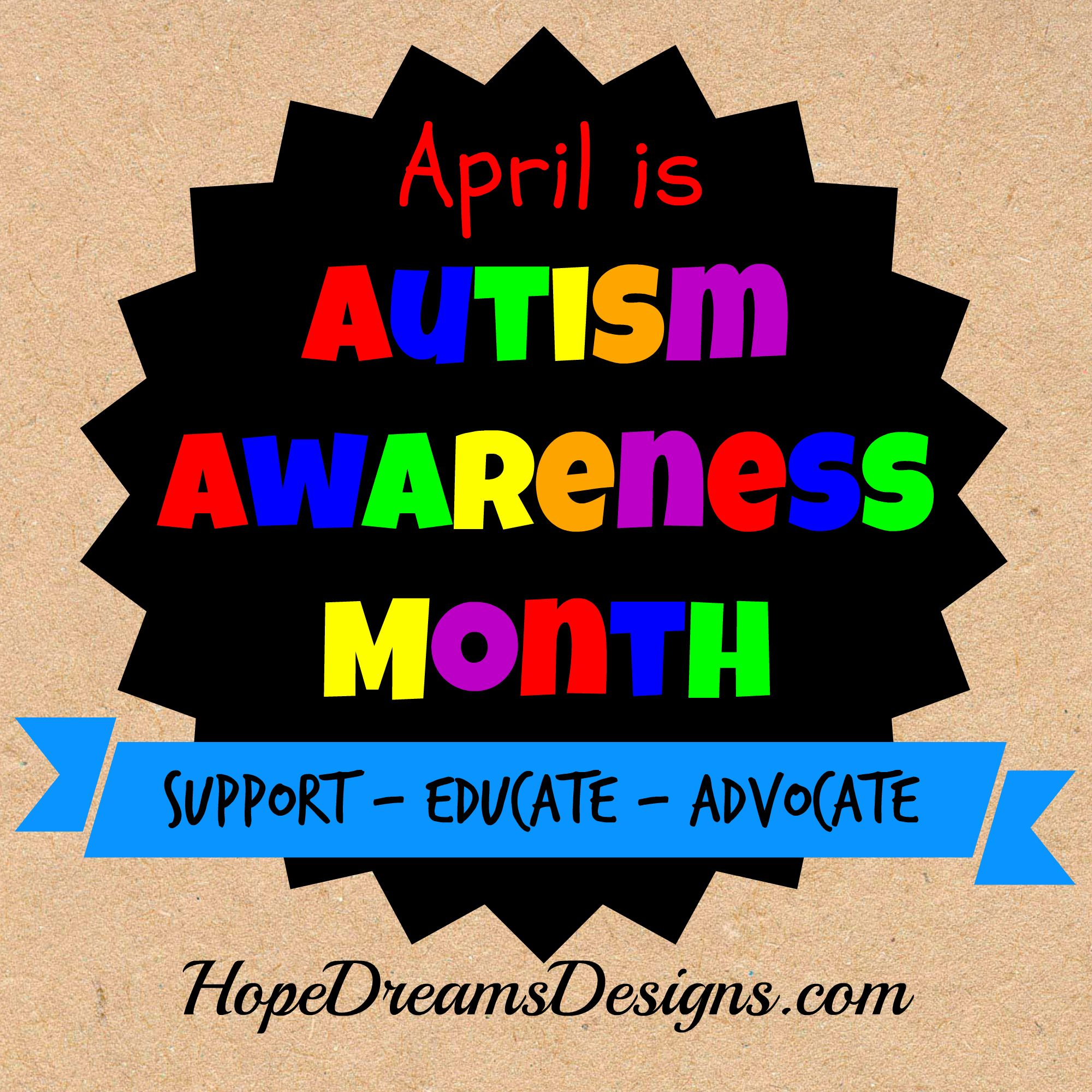 Pin On World Autism Awareness Day