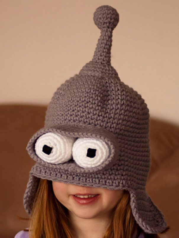 25+ Cool Winter Hats That Will Keep You Warm Open List 96 submissions so  far (12 26 2014). boredpanda.com Bender Hat 818dcd621d3