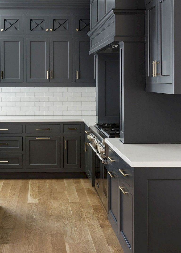 92 Amazing Kitchen Backsplash Dark Cabinets Luxury Kitchen Cabinets Grey Kitchen Designs Dark Grey Kitchen Cabinets