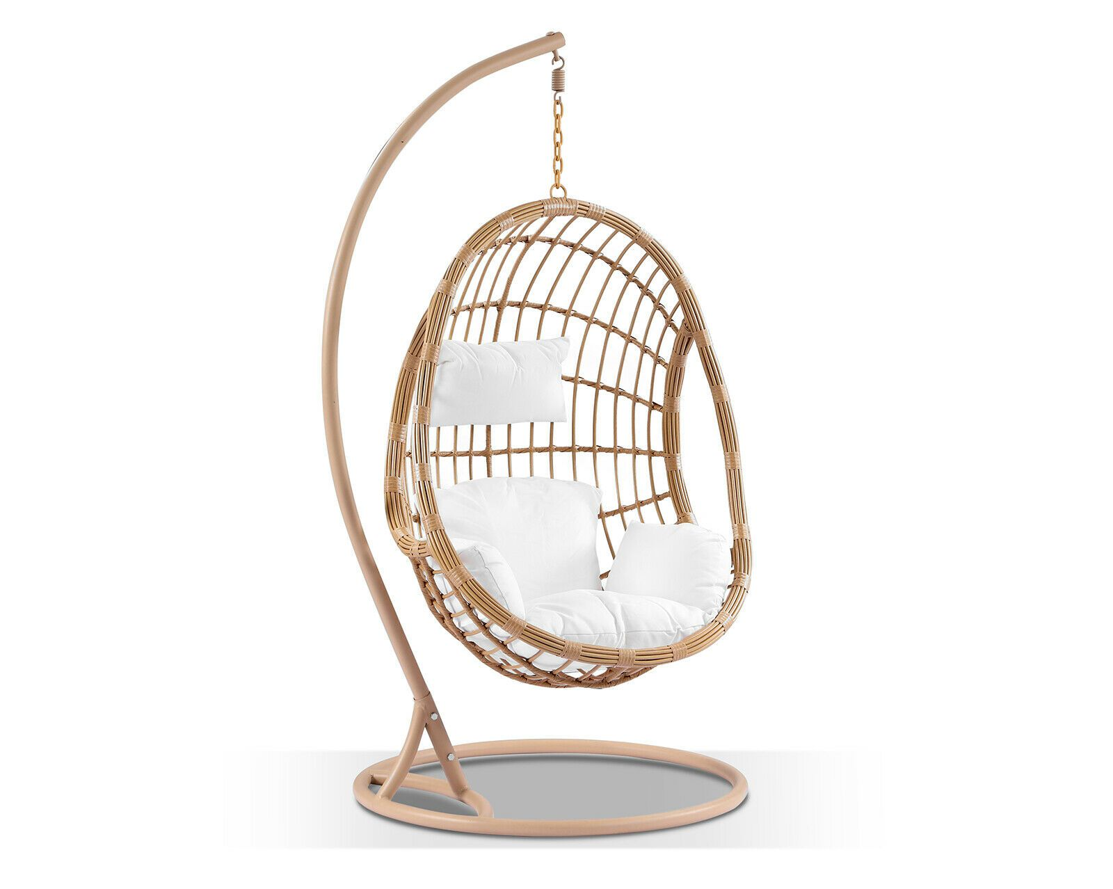 NEW Delilah Hanging Egg Chair Undercover Use, Wicker Pod