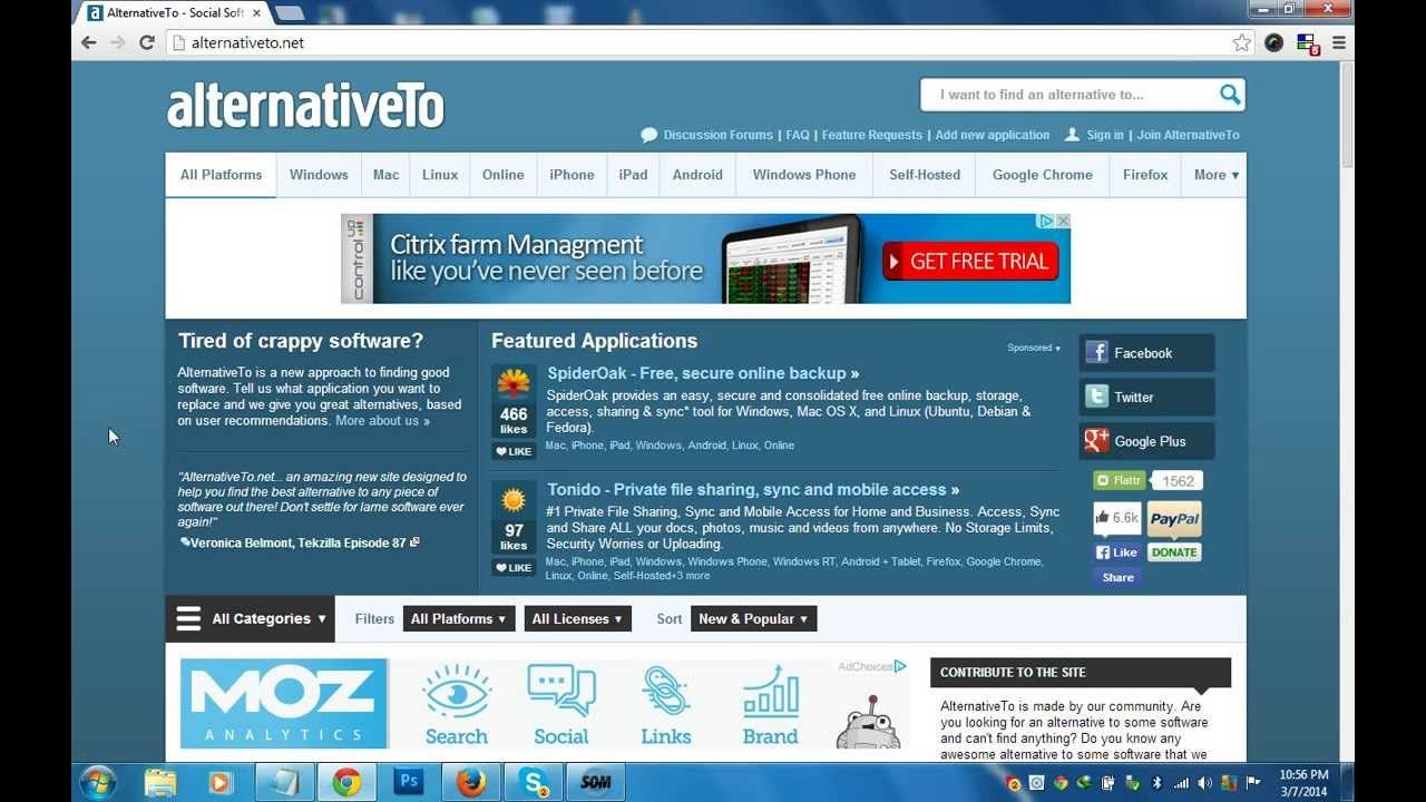 Find Apps and Software for Windows, Mac, Linux, iPhone