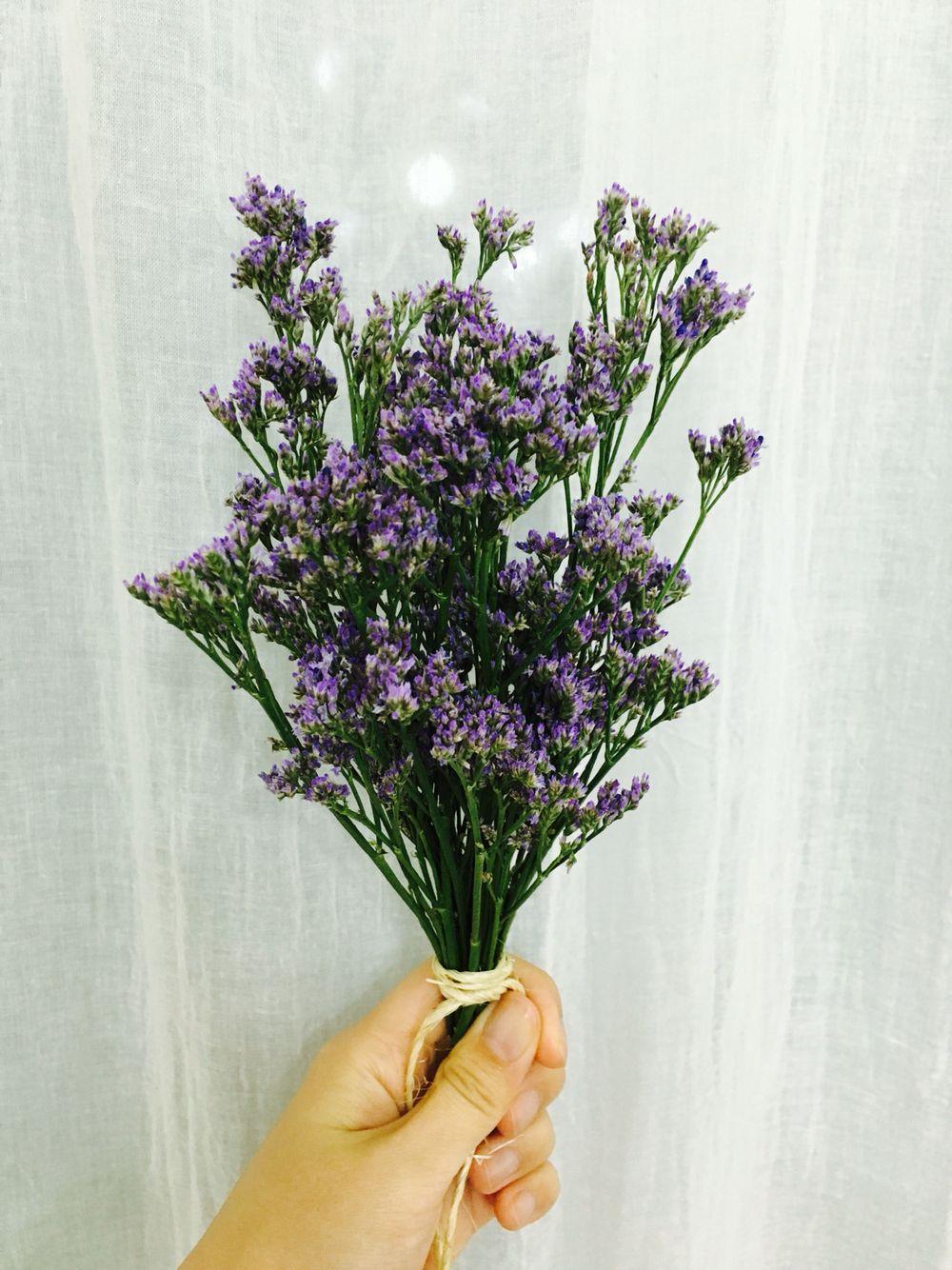 Misty Blue Flower Pinterest