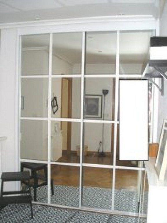 Tapar espejos de armario empotrado decorar tu casa es for Armario alto zapatero con espejo