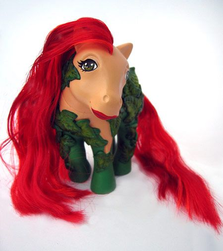 custom my little pony - poison ivy