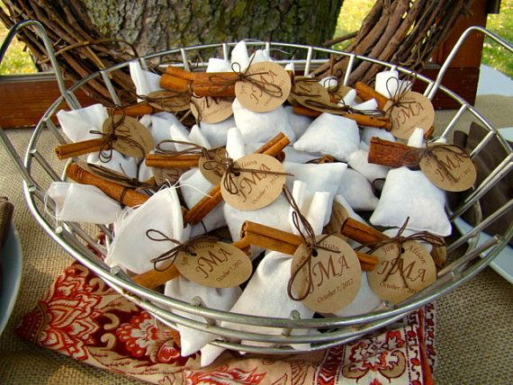 Halloween Wedding Gifts: Mulling Spices Mulled Cider Bags- Wedding Favors, Hostess