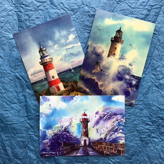 Abstract Art Postcards