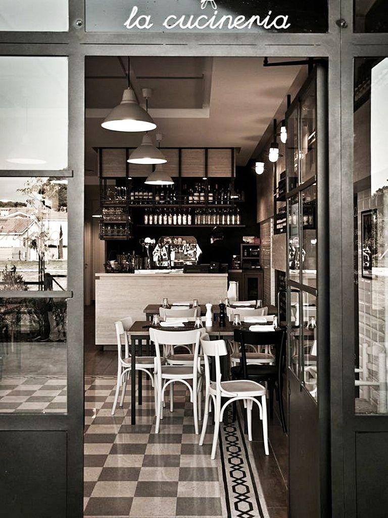 La cucineria restaurant in rome italy restaurant design for Restaurant italien 95