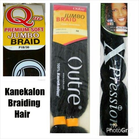 My Preferred And Most Often Used Brands Of Kanekalon Braid Hair