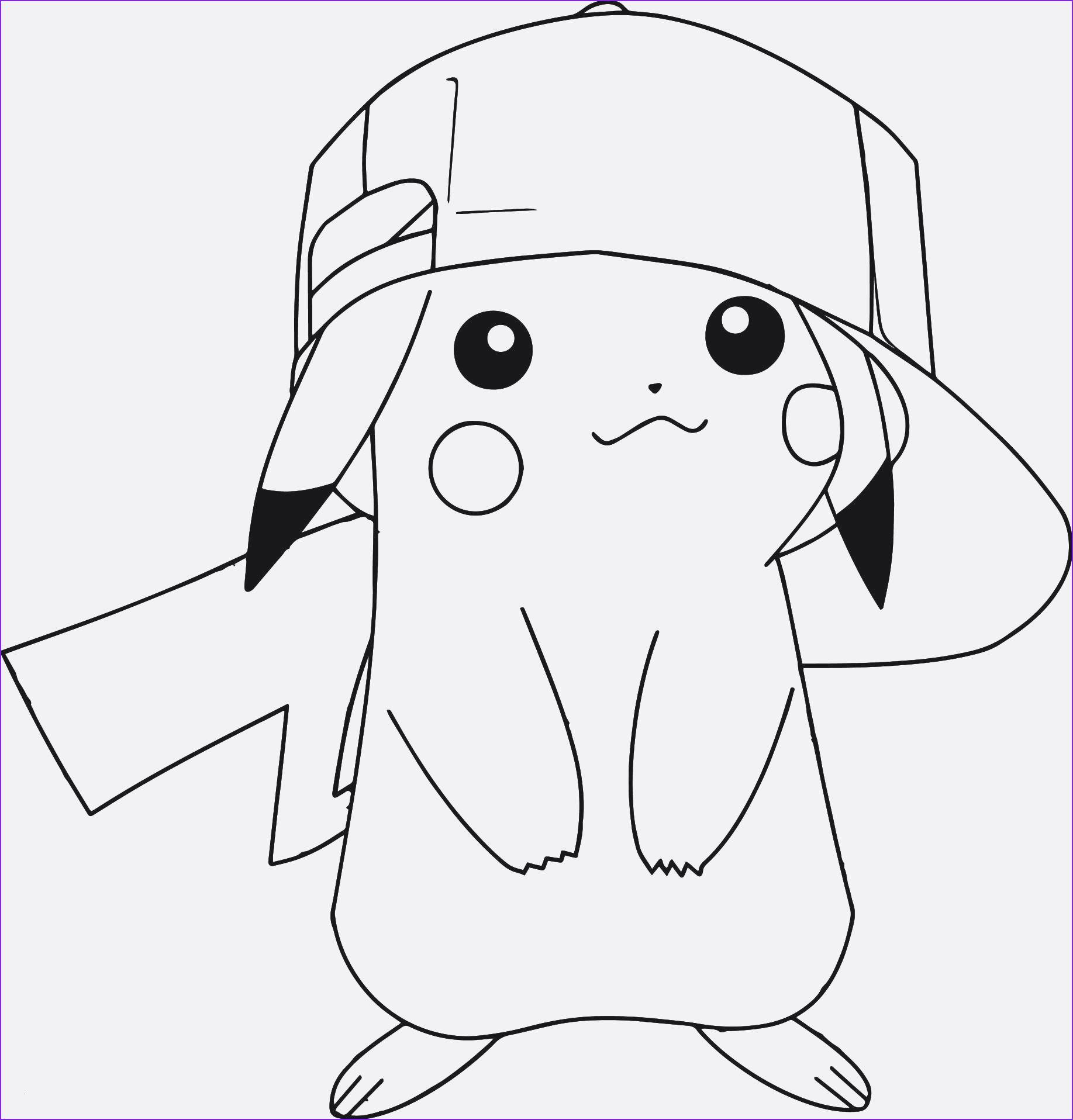 Ausmalbilder Pokemon Pikachu Unique Coloring Pages Pokemon
