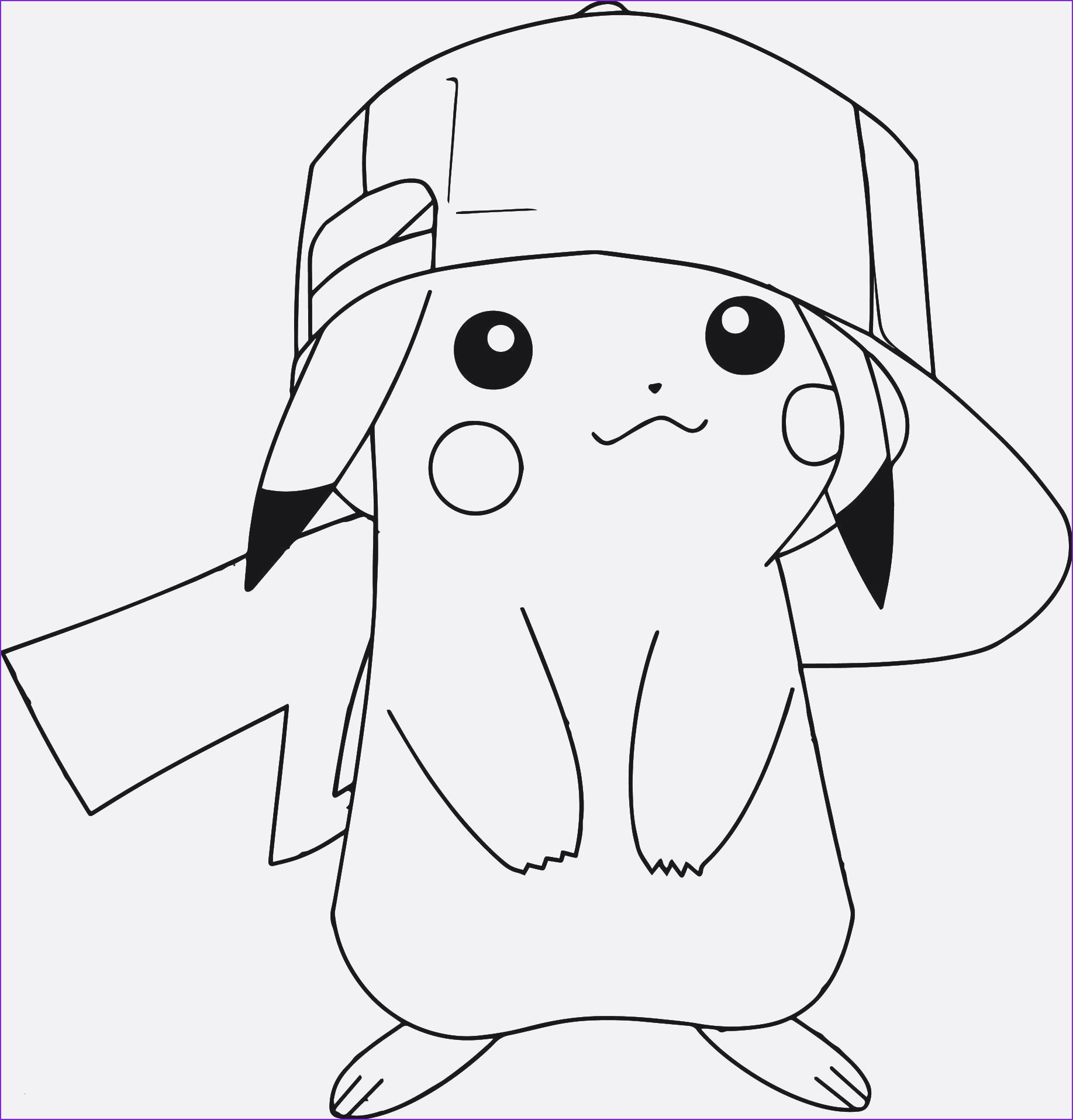 Pokemon Ausmalbilder Pikachu
