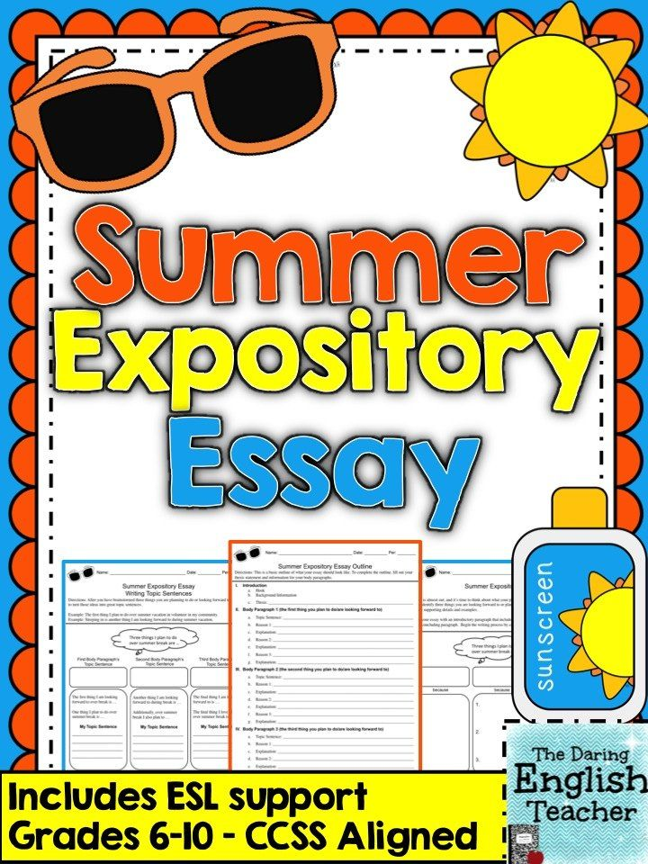 A summer vacation essay