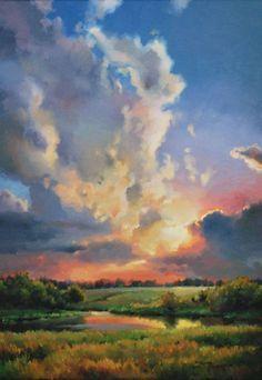 42 Easy Landscape Painting Ideas For Beginners Pinturas De Paisajes Paisaje Para Pintar Pinturas