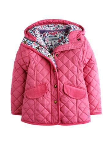 JNR MARCOTTE Girls Quilted Hooded Coat