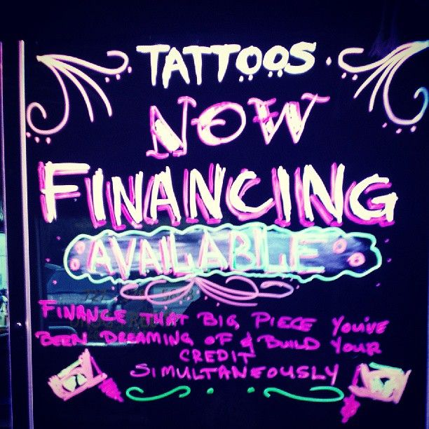 Standing Art Tattoos & Art Gallery NOW OFFERING TATTOO FINANCING!!!   #tattoos #art #standout #finance #standingart #awesome #epic #financing #creditscore #credit #financial #standingarttattoos #deals #promotions #tattooing #afterinked #h2ocean #eternalink #intenze #tattoo #tattooartist #customtattoo #customtattoos #groupon #livingsocial #quality #loans #money #cash #qualitytattoos #tattoostudio #tampa #florida #pin #pinit #repin #hashtag #tattooedpeople #pinterest #new #bigtattoos