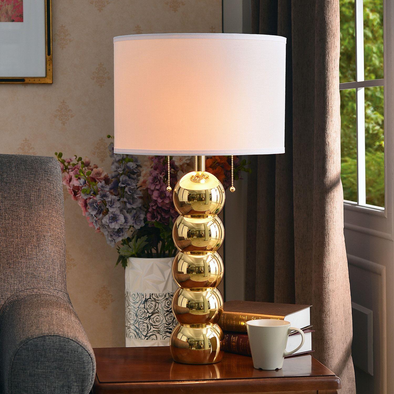 Kenroy Home Bolero Gold Finish Table Lamp Table Lamp Kenroy Home Lamp