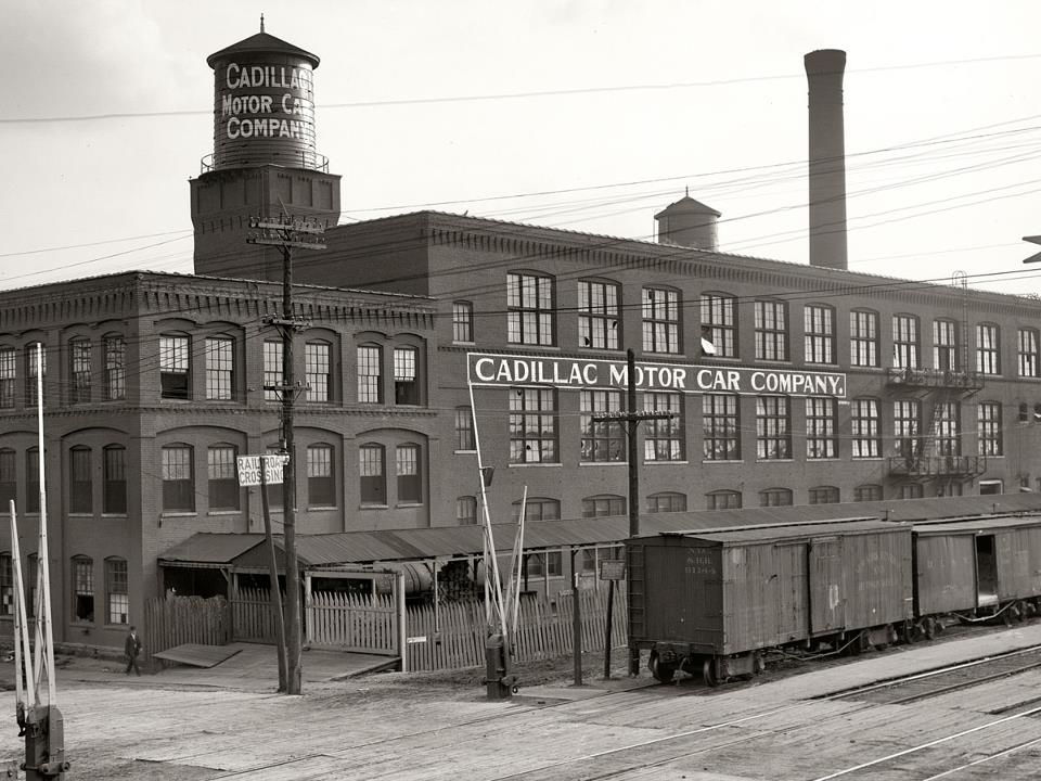 Cadillac Motor Company. Founded in Detroit in 1902. | car ...