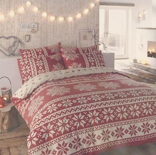 Christmas Bedding Christmas Time Pinterest Christmas bedding