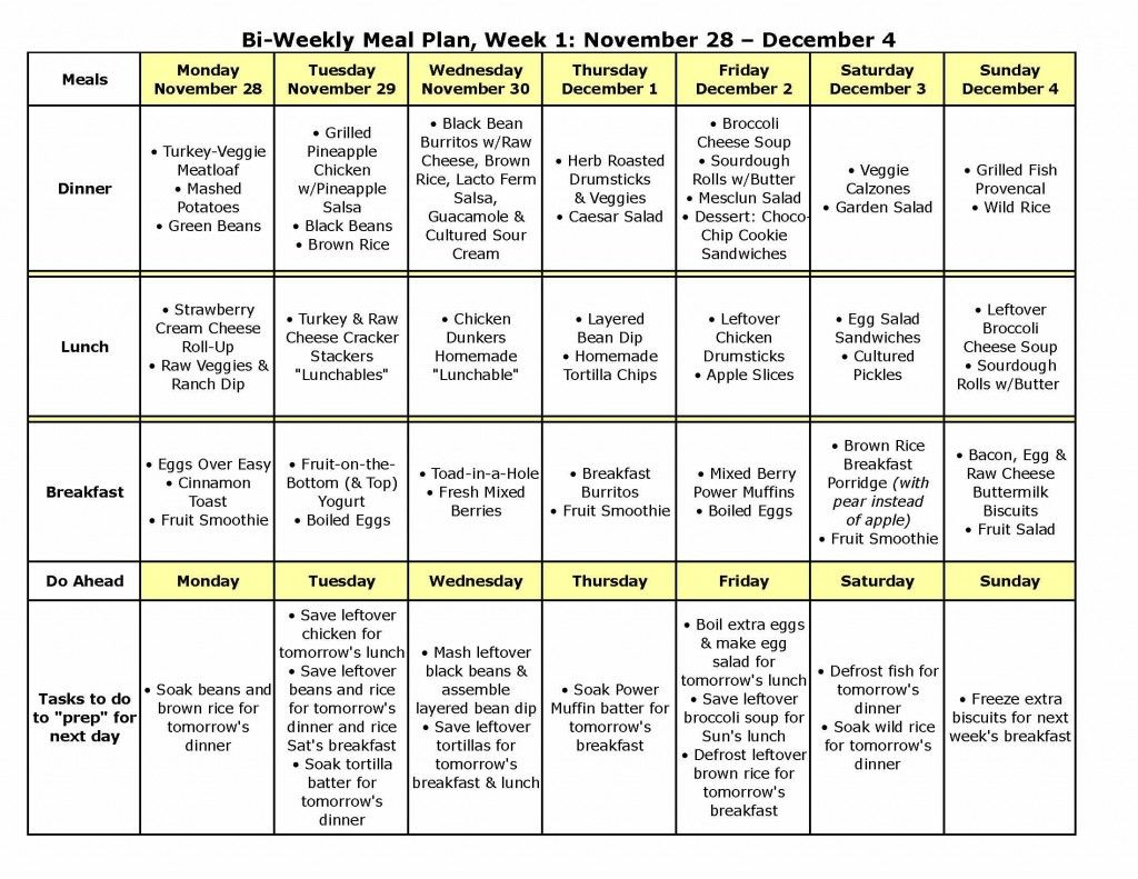 meal plans meal planner template weekly meal planner template and