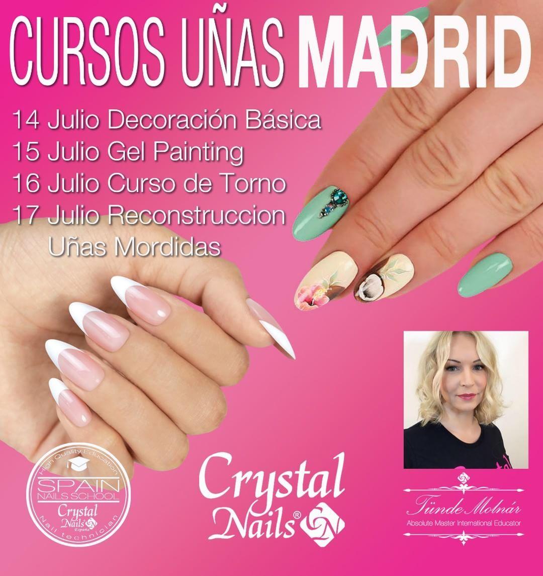 Pin De Crystal Nails España En Crystal Nails España Uñas