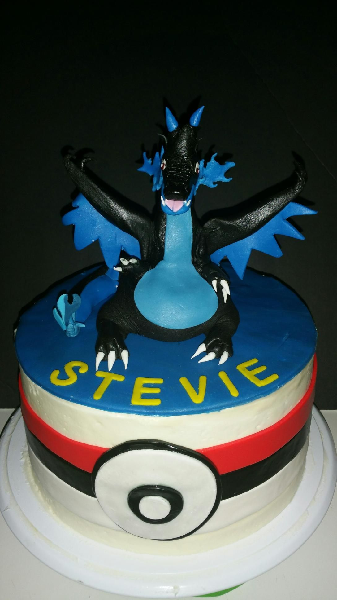 Charizard Ultra Mega Evolution Cake Requests And