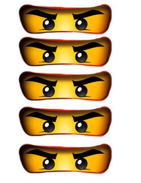 Ninjago Party Bag Eyes Pdf Google Drive Ninjago Geburtstag Ninja Geburtstag Kinder Geburtstagsideen