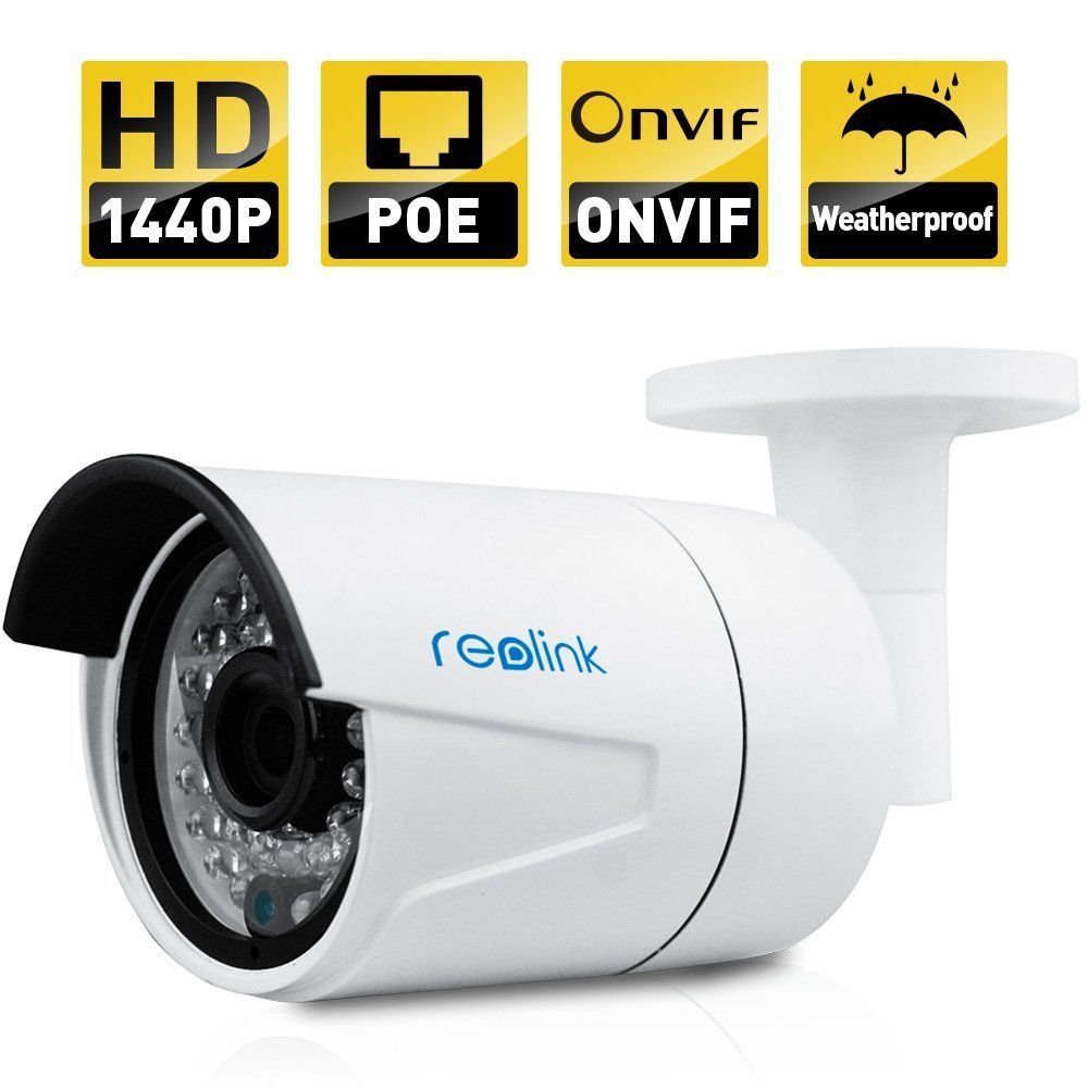 Reolink IP Security Camera 4MP 1440P POE Security IP Camera ...