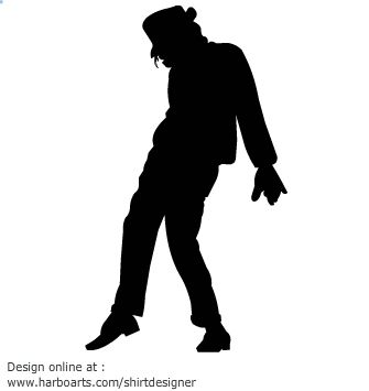 Download Michael Jackson Silhouette Vector Graphic Michael Jackson Silhouette Michael Jackson Party Silhouette