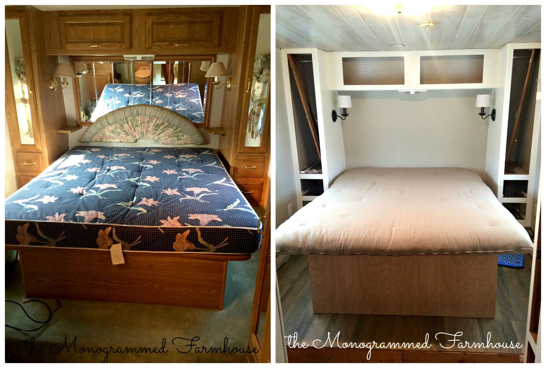 The Camper Renovation- Progress! | Remodeled campers ...