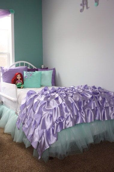 Disney Princess Ariel Inspired Room By StichXStichCreations