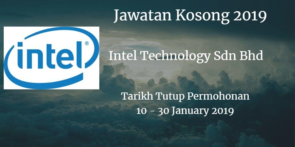 Jawatan kosong intel technology sdn bhd10 30 january