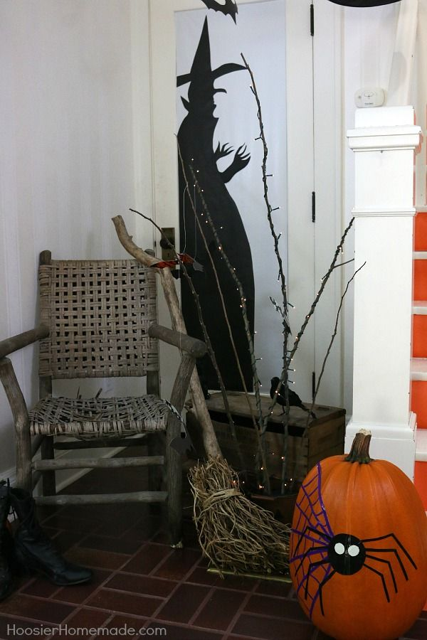 Ghosts - Goblins - Bats - and Witches Brew  Greet your guests and - create halloween decorations