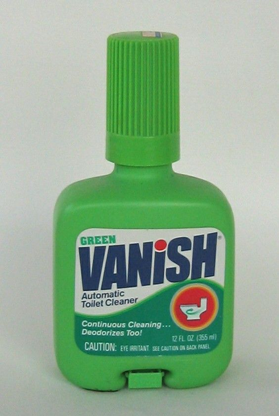 Green Vanish Automatic Toilet Bowl Cleaner