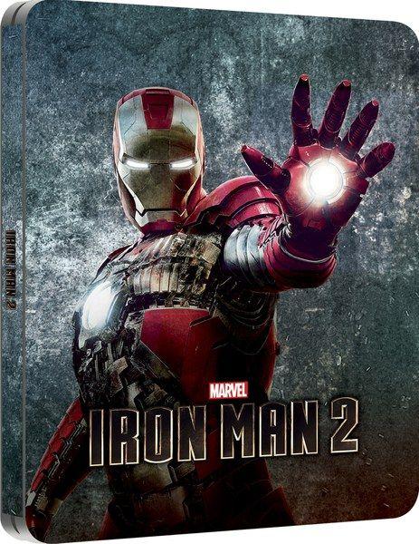 Iron Man 2 Zavvi Exclusive Lenticular Edition Steelbook Iron Man Man Thing Marvel Marvel Iron Man