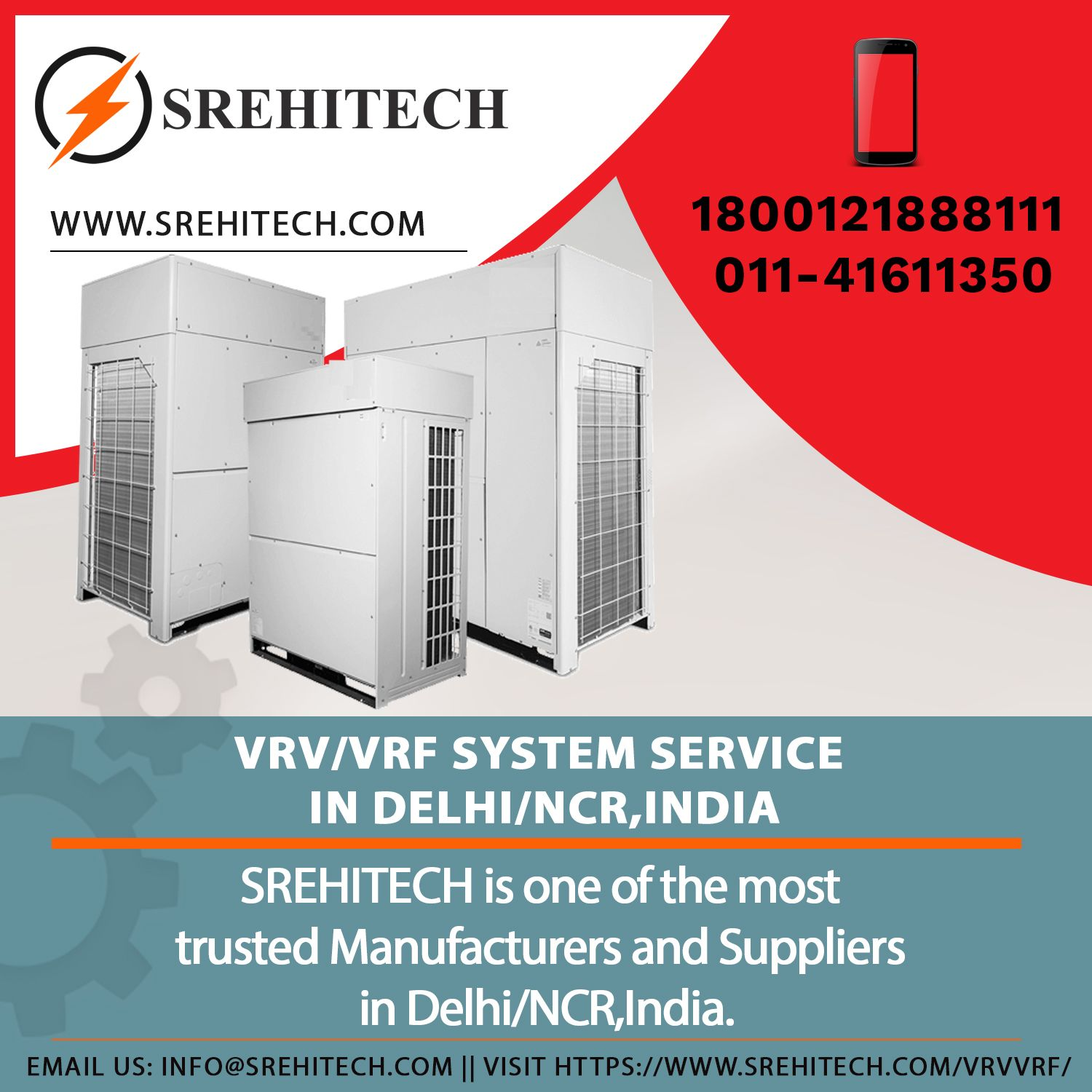 VRV/ VRF AC System Installation Services in Delhi/NCR