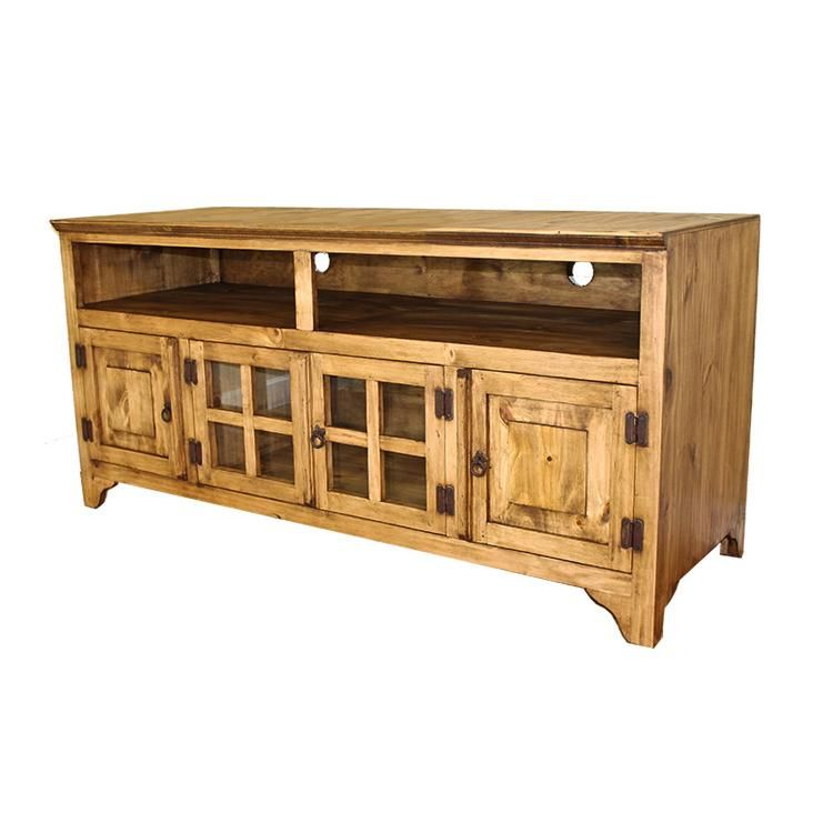 Rustic Pine Collection Gregorio 60 Tv Stand Com60 Rustic Tv