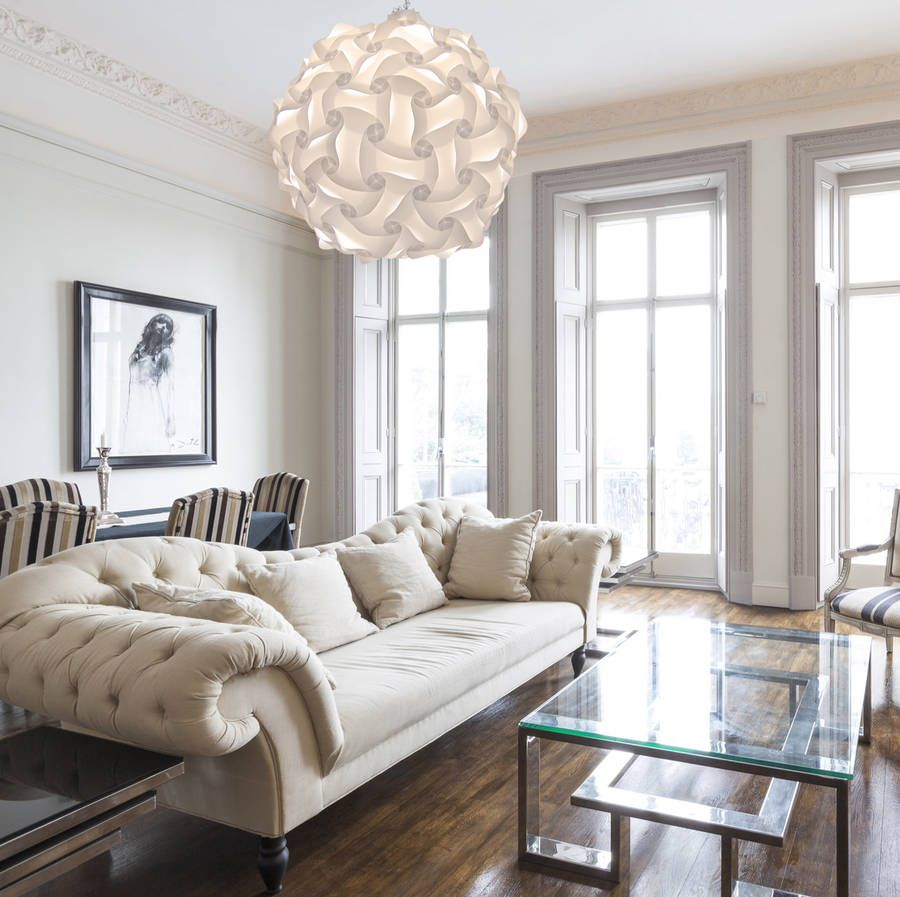Living Room Ideas Elektra Large Globe Light Pendant Lampshade