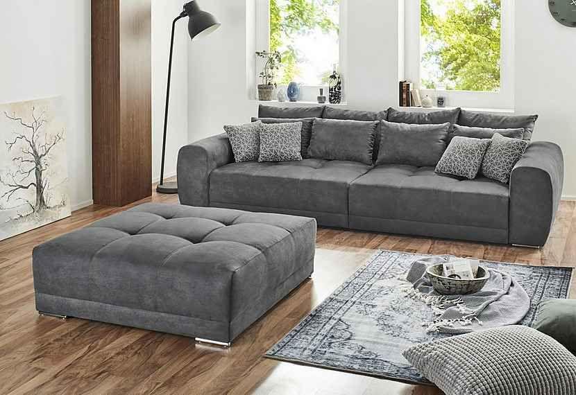 Big Sofa Inklusive Loser Rucken Und Armlehnkissen Online Kaufen Otto In 2020 Grosse Sofas Big Sofa Kaufen Sofa