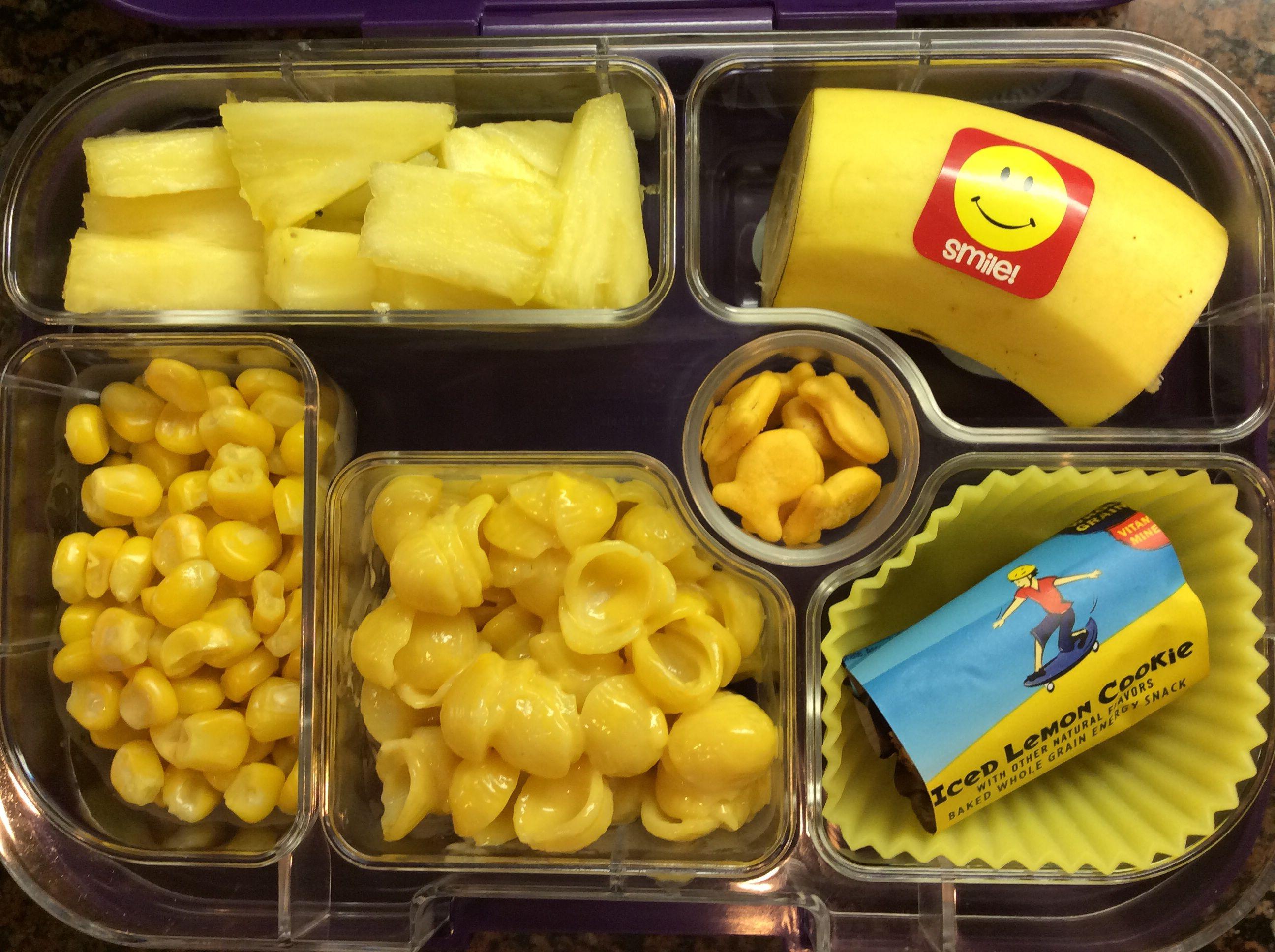 Yellow Day At Preschool
