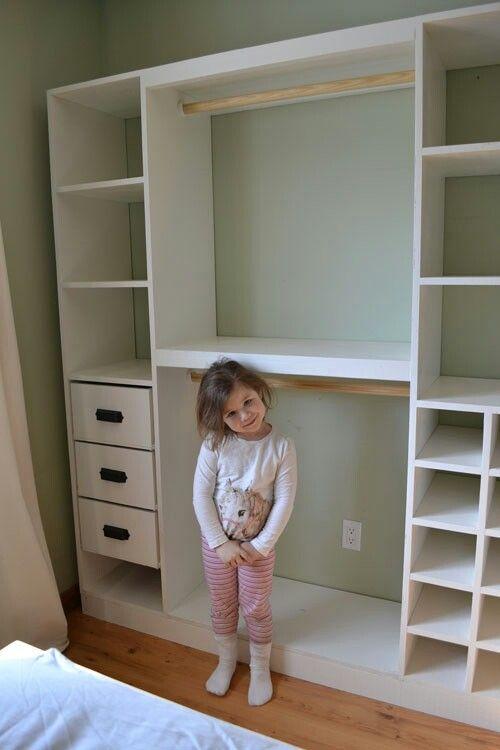 Perfect for basement storage | Master bedroom diy, Closet ...