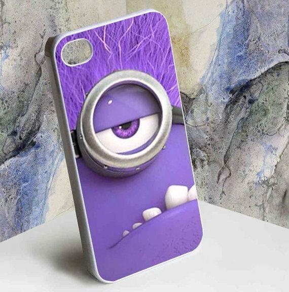 Purple Minion iphone case
