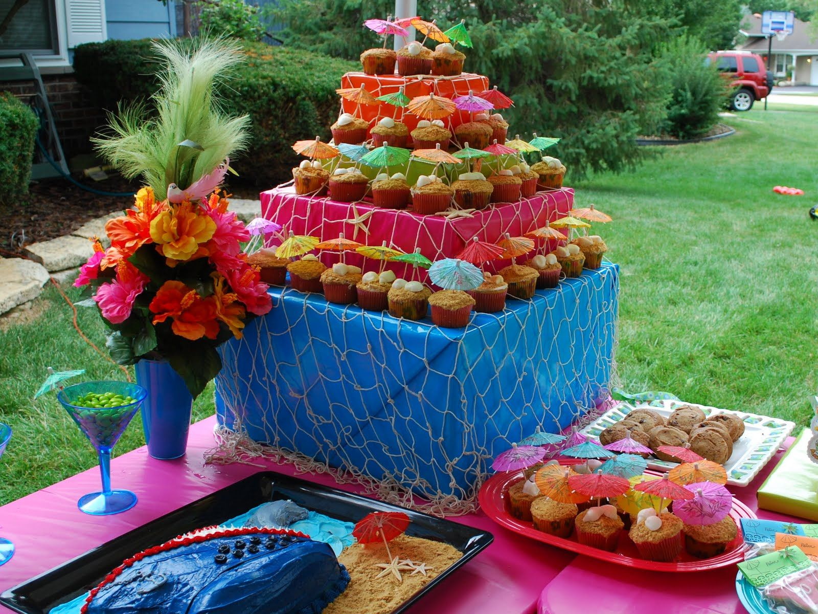 Caribbean Party Ideas And: ... ..The Galbraith Tales: Auntie Val's