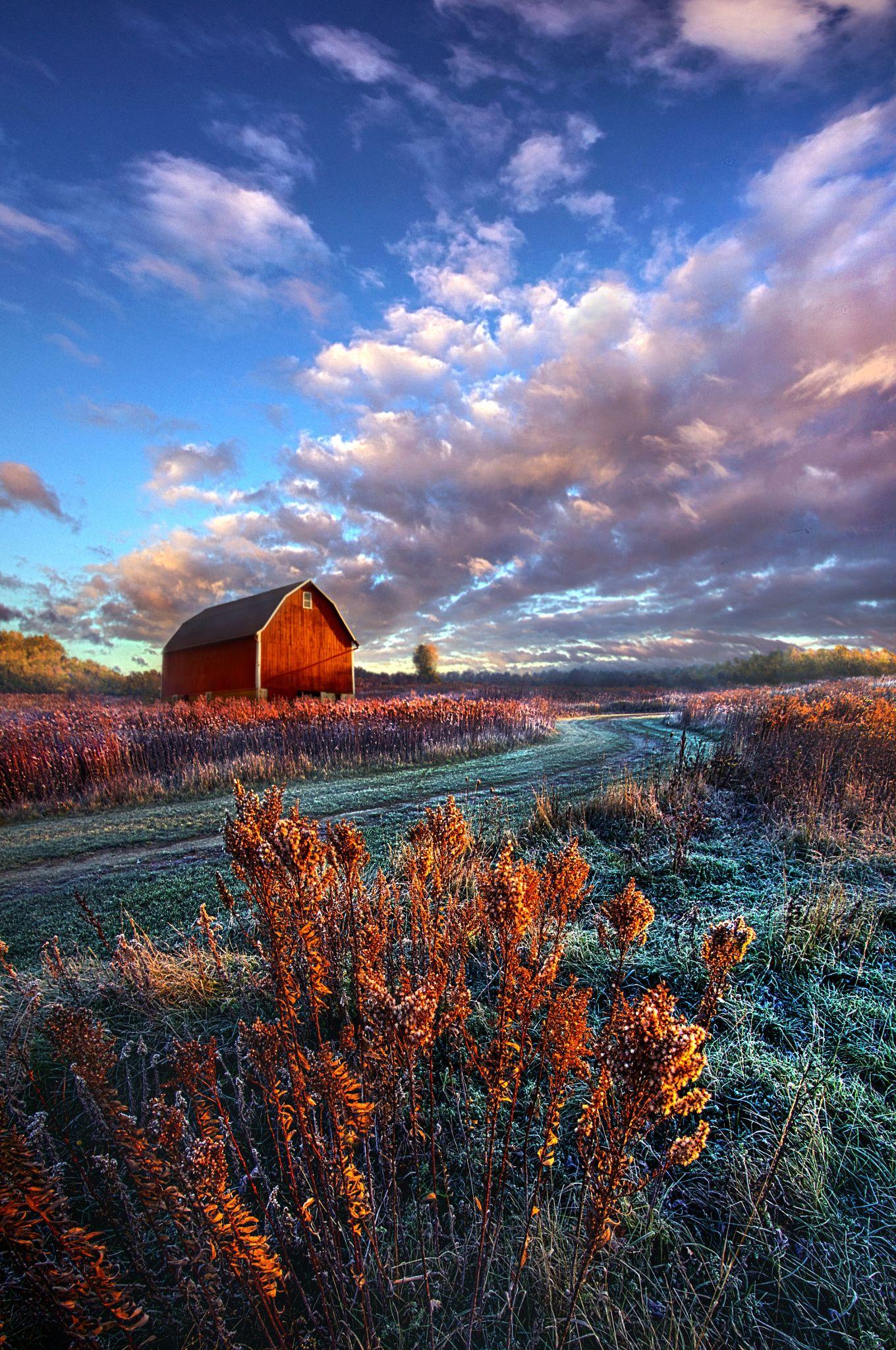 Wisconsin Farm Landscape Barn