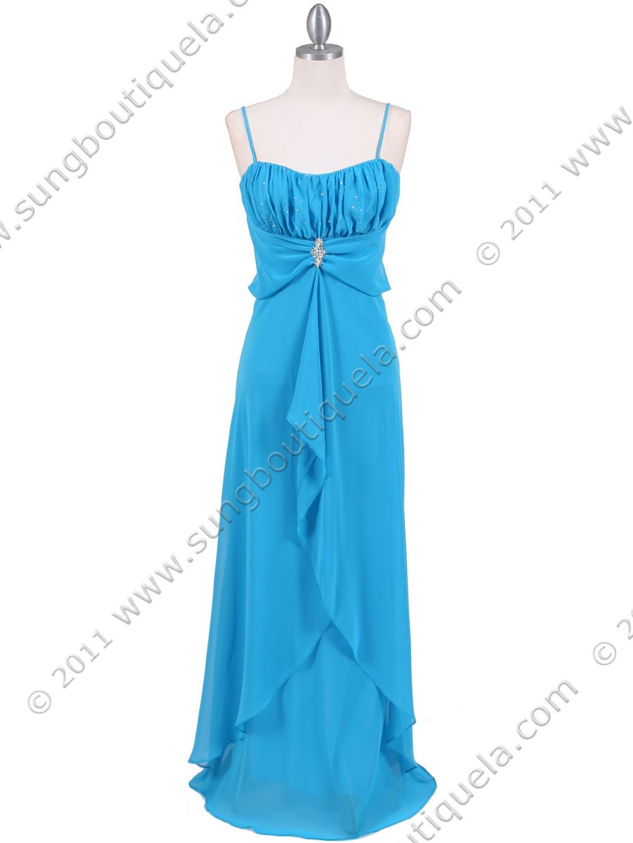 Turquoise bridesmaid dressat awesome moment when this was my