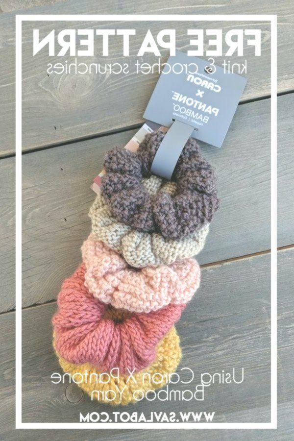 Free Knit & Crochet Scrunchies Patterns – Savlabot  #crochet #amigurumi #crochetpattern #amigurumipattern #diycrafts #haken #diy #diycrafts #amigurumilove #diyfluffies #haken #häkeln #handmade #yarn #crochetscrunchies