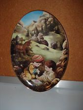 ENESCO PRECIOUS MOMENTS 1995 COLLECTION THE GOOD SAMARITAN PLATE #3485A
