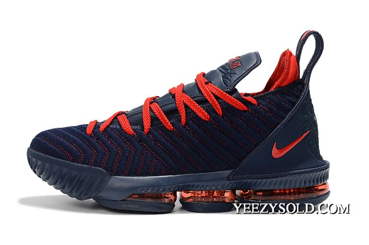Top Deals Nike Lebron 16 Navy Blue