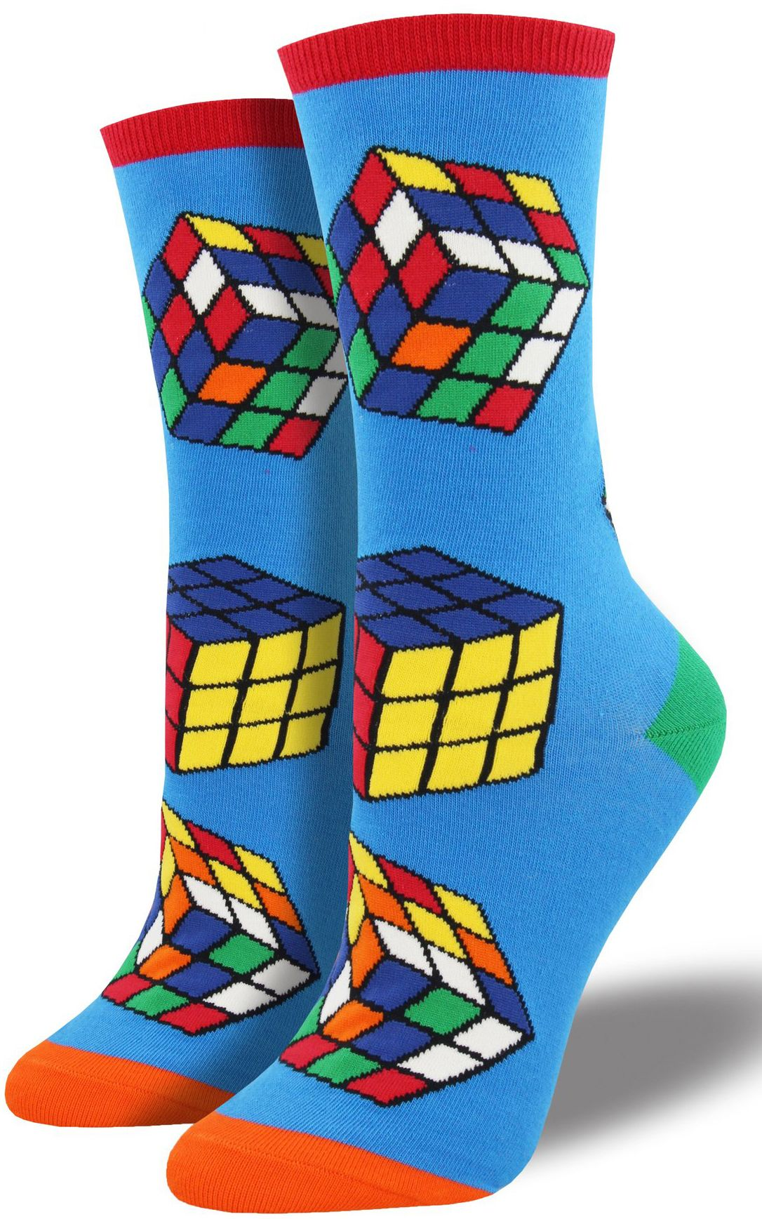 Rubiks Cube Crew Socks Socks Pinterest Crew Socks Socks And Cube