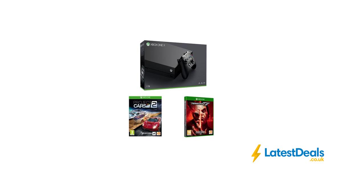 Xbox One X, Tekken 7 & Project Cars 2 Bundle Black, £379